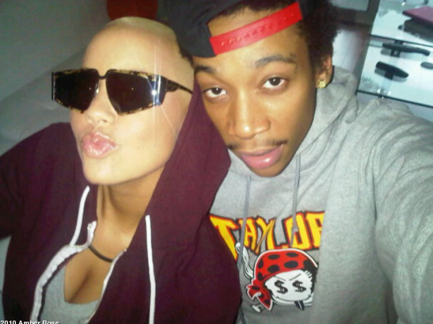 amber rose pregnant by wiz khalifa. HERE ) that Amber Rose was
