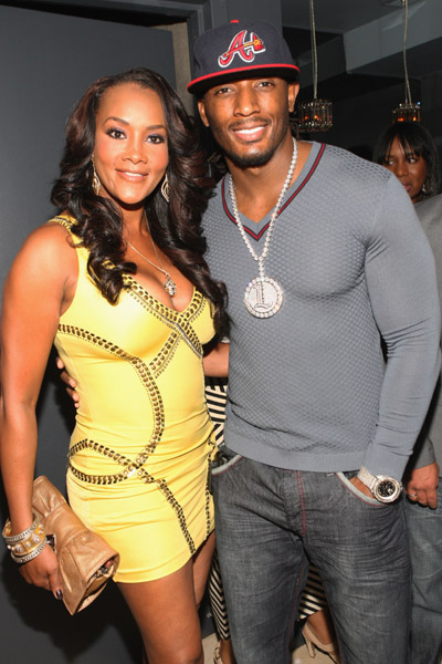 "Word around ""Black America"" is that Vivica Foxx & her much younger man Slimm ..."