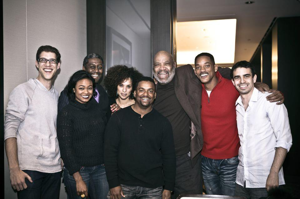 """WILL SMITH & THE CAST OF """"FRESH PRINCE OF BEL AIR"""" REUNITE"""