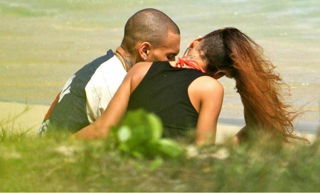Rihanna and Chris